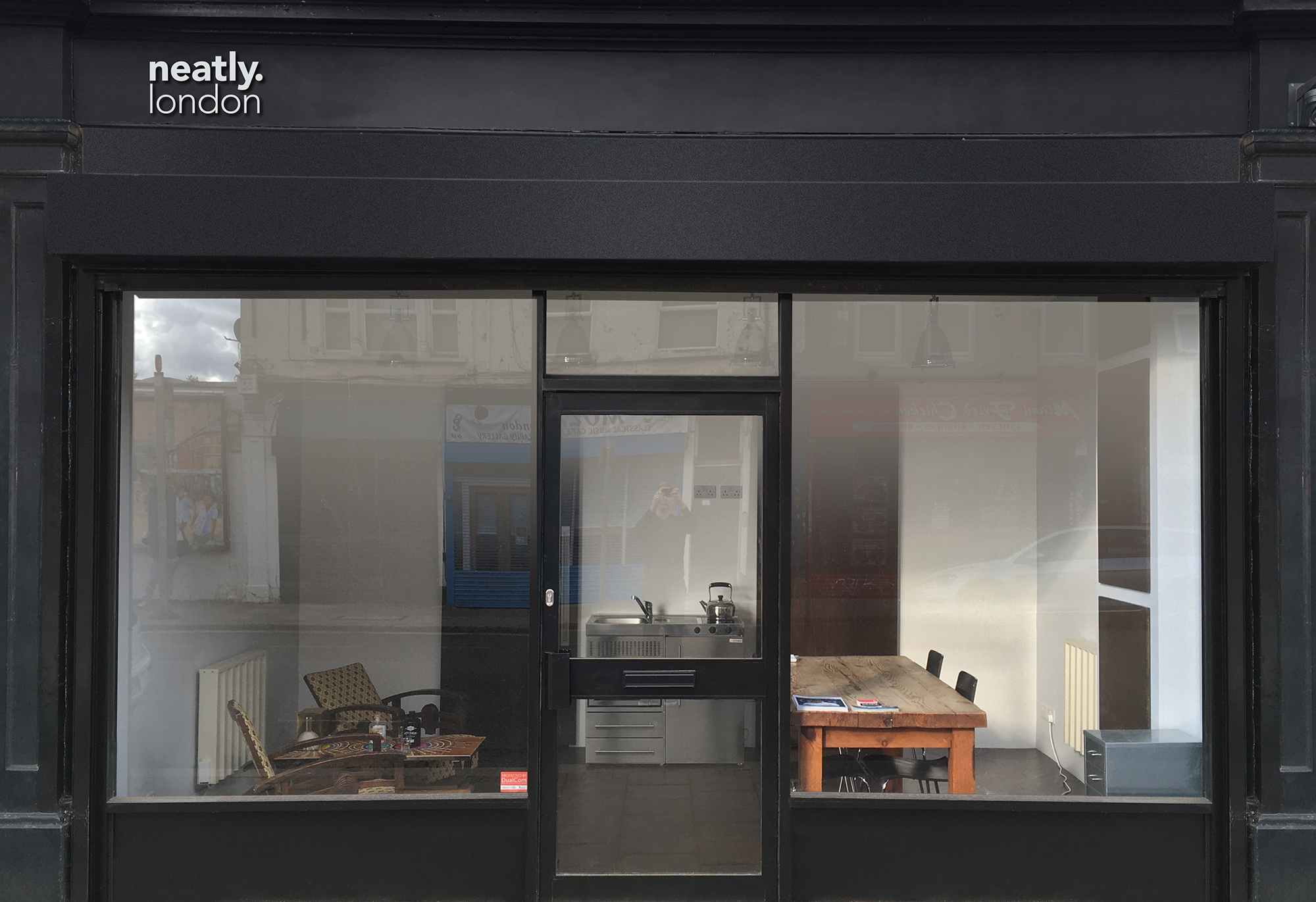 neatly london shop front